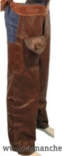 Chaps Shotgun in leather