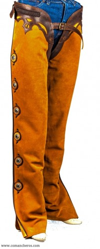 Chaps with velcro closure