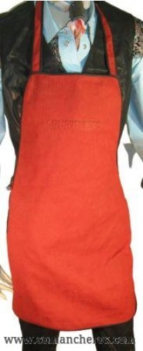 Red Leather Apron