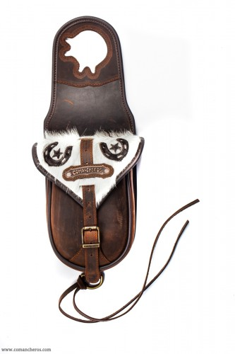 Classic western with cowhide