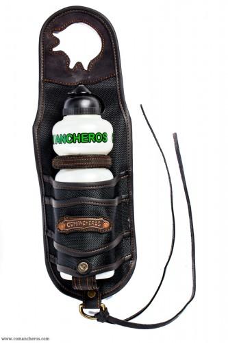 Pommel horn bottle holder in Cordura
