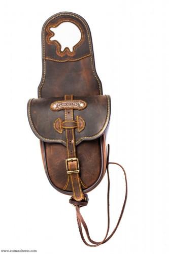 Saddlebag Leather Horse