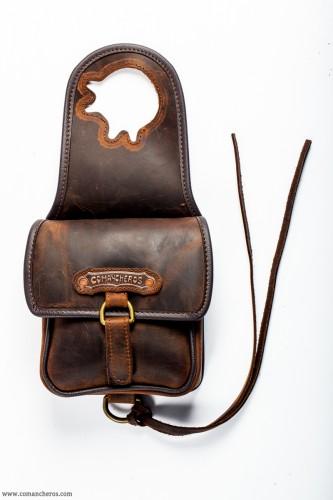 western mini pommel bag