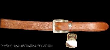 Cowboy Leather Belt CT47