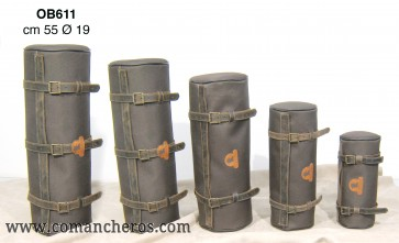 Maxi roll in nylon with three straps