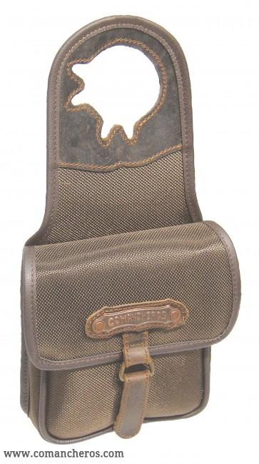 Pommel bag for cowboy saddle