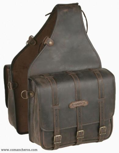 Large square saddlebags