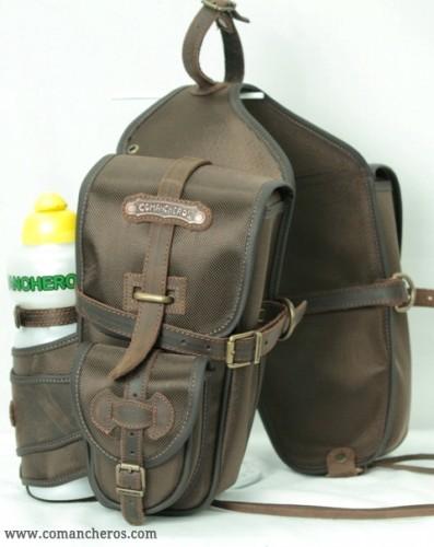 Front saddlebags for trekking