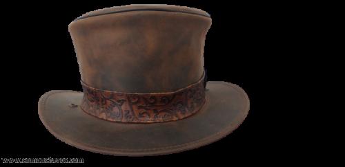 Medium-high carriage hat