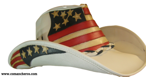 Western Stars and Stripes Hat