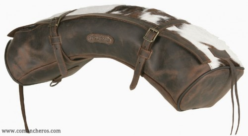 Classic Equine Cashel Leather Shaped Contoured Horse Saddle Cantle Bag U-CNTS