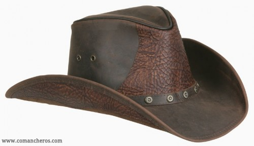 Riding Leather Hat