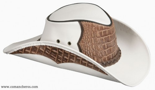 Crocodile Leather Riding Hats