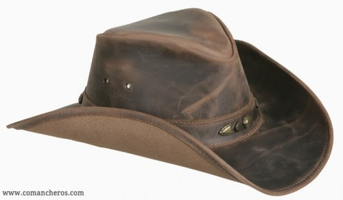 Water Repellent Leather Hat