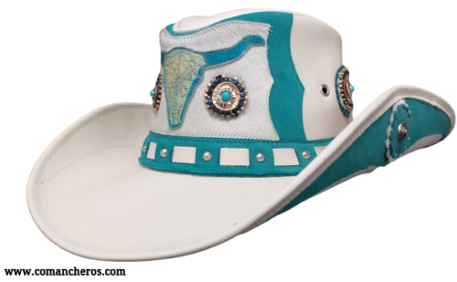Country Western Leather Hat