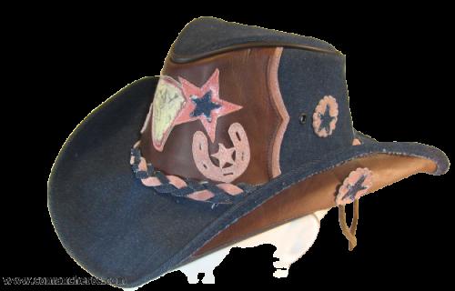 Western Jeans Hat