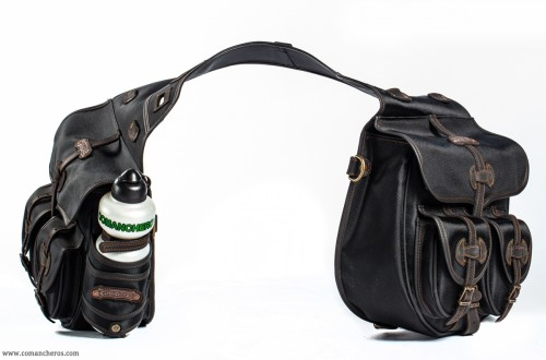 Rear double trekking saddlebags
