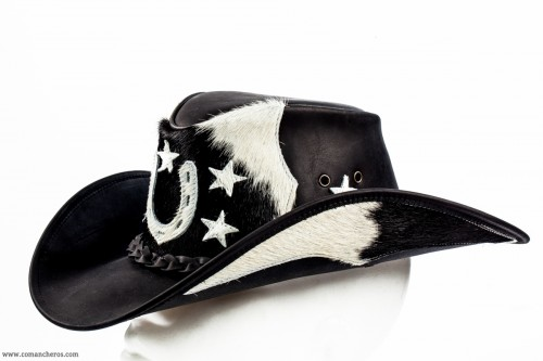 Nevada hat in leather