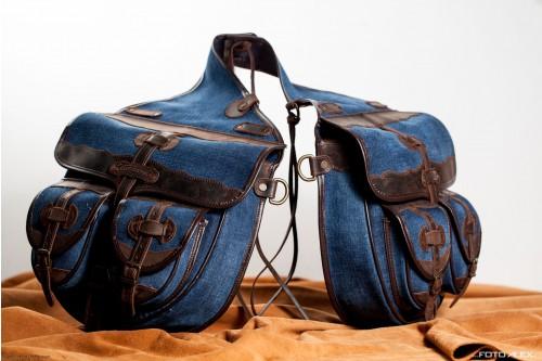 saddlebags with pockets