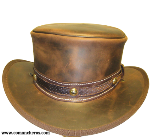 New Carriage Leather Hat
