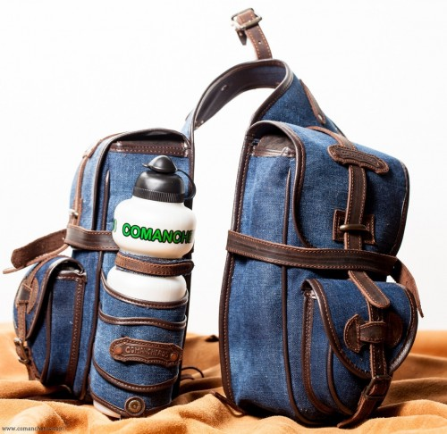 Trekking double saddlebags