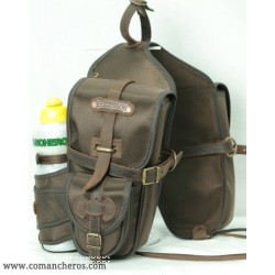 Front saddle bag made from Cordura for Trekking saddle