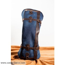 Half-monn bag made from Denim for Westernsaddle