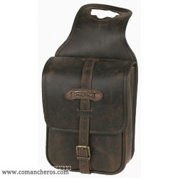 Leather Horn saddle bag Comancheros
