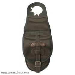 Single pommel saddle bag made Cordura STC and Leather