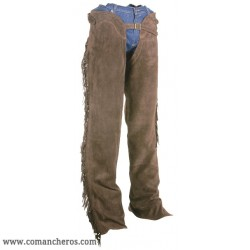 Classic fringed Chaps made from softest suede