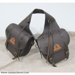Rear saddle bag, medium size made special nylon