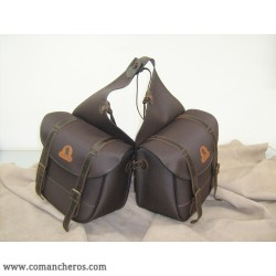 Large  rear saddle bag  with buckle, made with special nylon