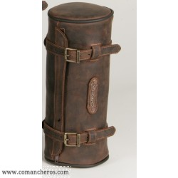 Small Round saddle bag for western saddle
