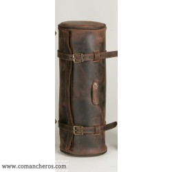 Medium Leather Round saddle bag