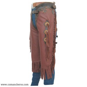 Chaps Chinks made Nappa Leather