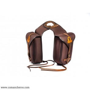 Double pommel saddle bag made with special  nylon
