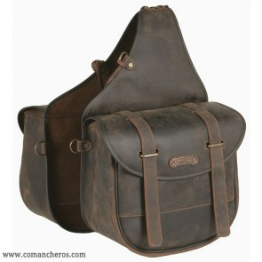 Large  rear Leather saddle bag with quick release