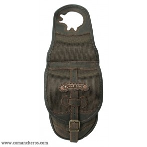 Single pommel saddle bag made Cordura STC and Leather