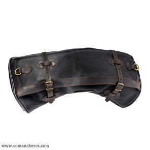 Black banana saddlebag
