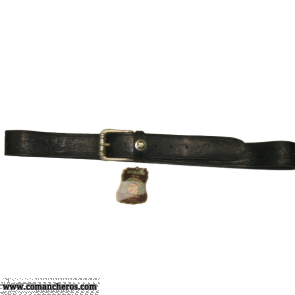 Black Leather Belt CT124