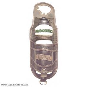 Bottle holder for western saddles