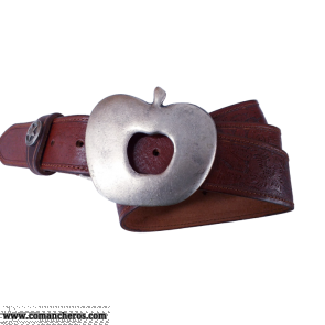 Brown Belt Buckle Apple CT49