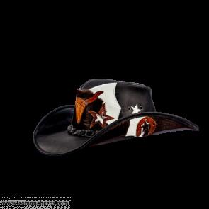 Buffalo Leather Hat