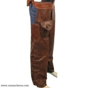 Chaps Shotgun in leather