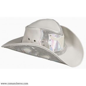 Country-Western Silver Hat