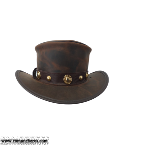 Exclusive Carriage Hat in Leather