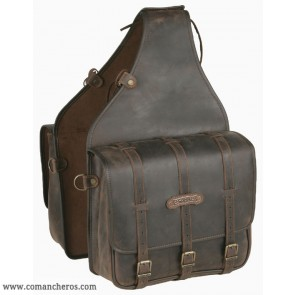 Large square saddlebags
