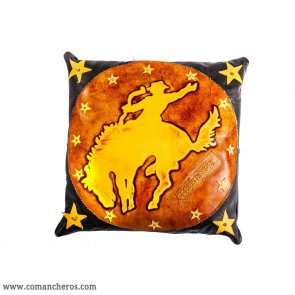Leather Rodeo Cushion
