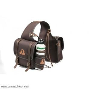 Medium rear saddlebag in nylon