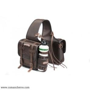 Medium saddlebag with bottle holder
